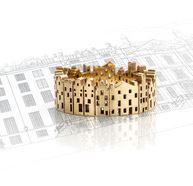 het juweel driebergen gouden huisjes ring Sieraad in perspectief aletta teunen