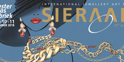 Sieraad Art Fair 8 t/m 11 november Amsterdam